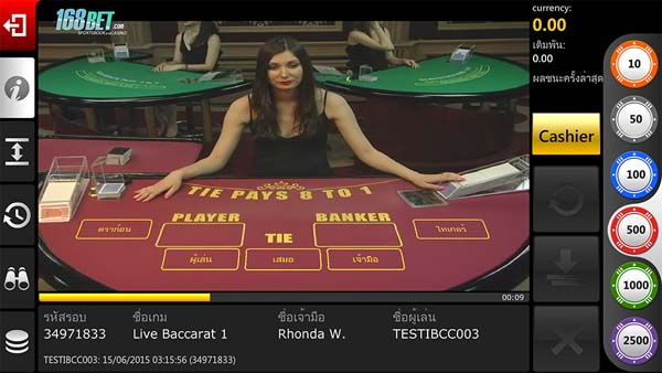 baccarat 168BET Android